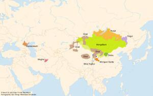 Mongolic languages httpsuploadwikimediaorgwikipediacommonsthu