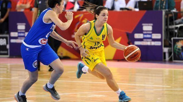 Monique Conti Basketball Melbourne Boomers sign dualstar Monique Conti