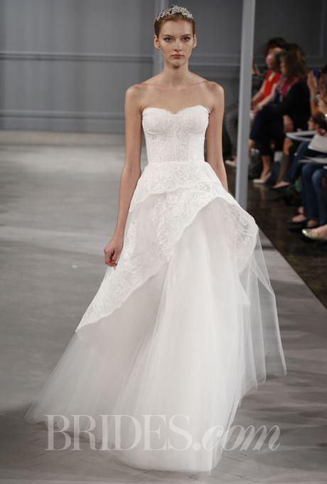 Monique Lhuillier Monique Lhuillier Wedding Dresses Spring 2014 Bridal