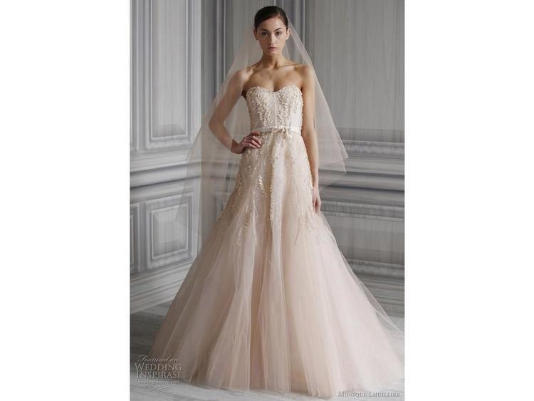 Monique Lhuillier Monique Lhuillier Candy 5000 Size 6 Used Wedding Dresses