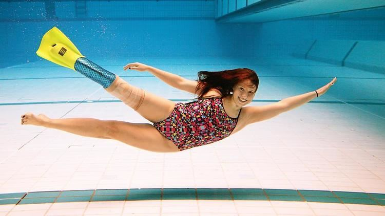Monique Murphy Swimmer Monique Murphy hopes mermaid leg will get her to Rio