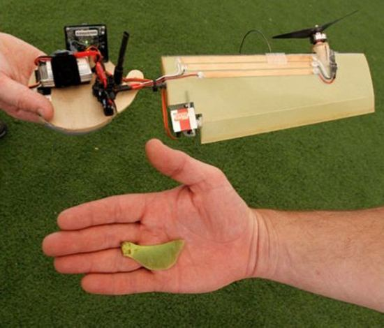 Monocopter Lockheed Presents Samarai Monocopter Inspired by Maple Seed The