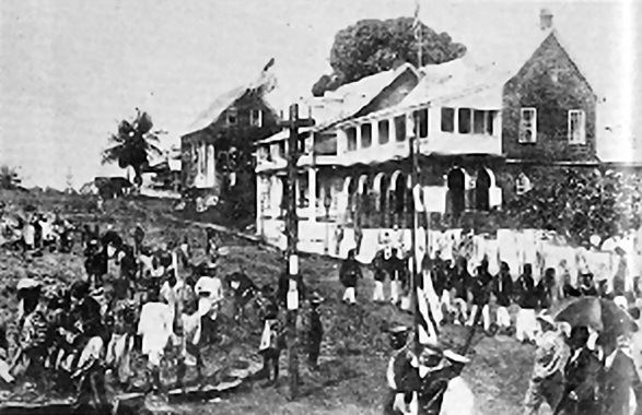 Monrovia in the past, History of Monrovia