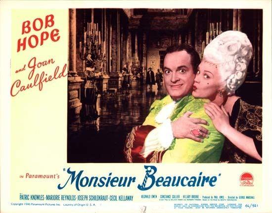 Monsieur Beaucaire (1946 film) Monsieur Beaucaire original US Lobby Card number 7 Movie Poster