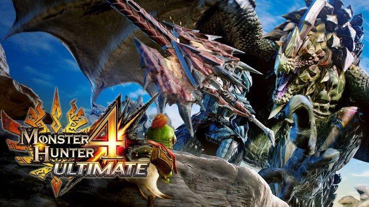 Monster Hunter 4 Monster Hunter 4 Ultimate 25min Preview Gameplay 60fps English