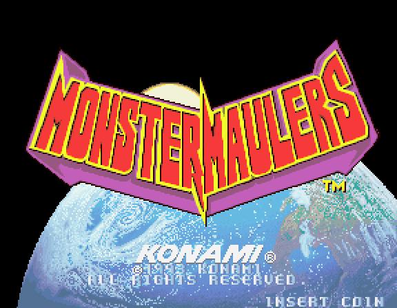 Monster Maulers VGJUNK MONSTER MAULERS