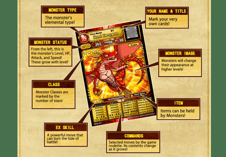 Monster Retsuden Oreca Battle Monster Chronicles ORECA BATTLE Official Site