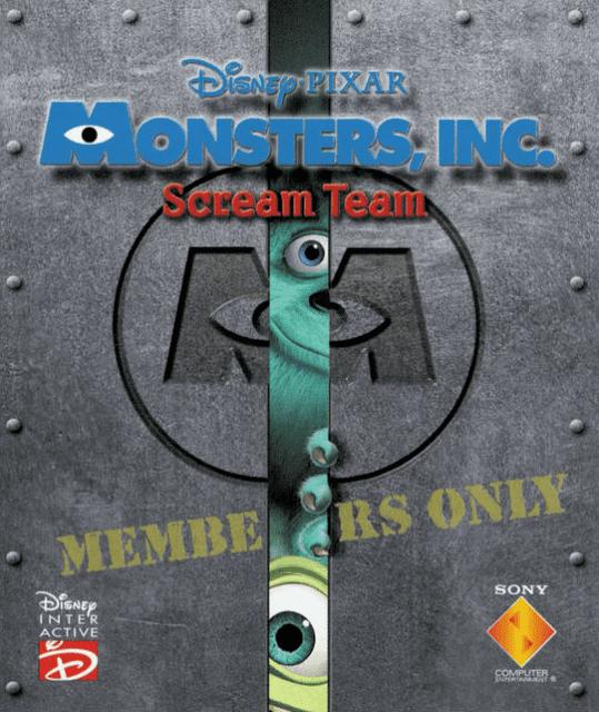 Monsters, Inc. Scream Team Monsters Inc Scream Team Game Giant Bomb