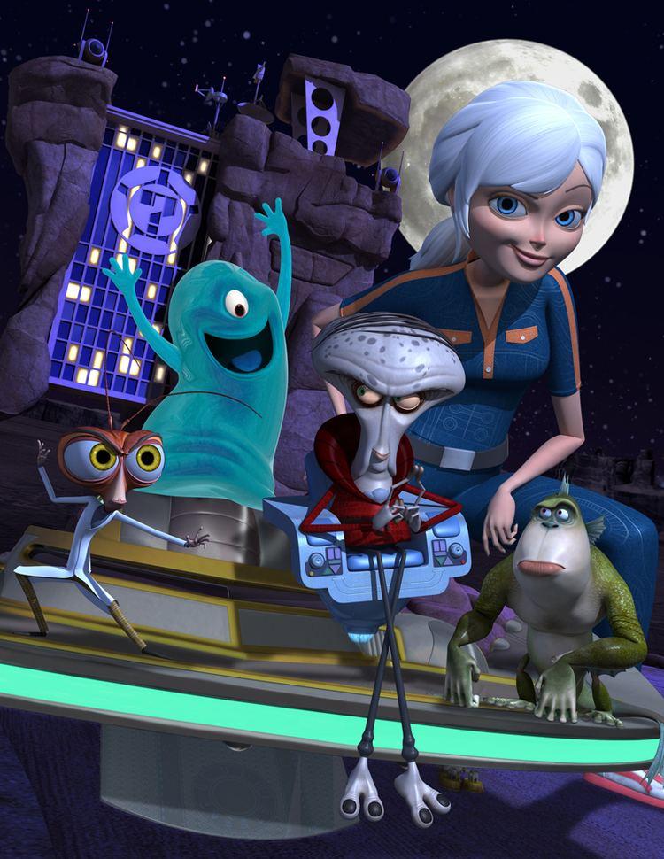 Monsters Vs Aliens Tv Series Alchetron The Free Social Encyclopedia