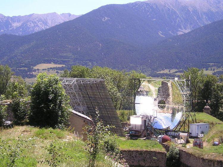 Mont-Louis Solar Furnace