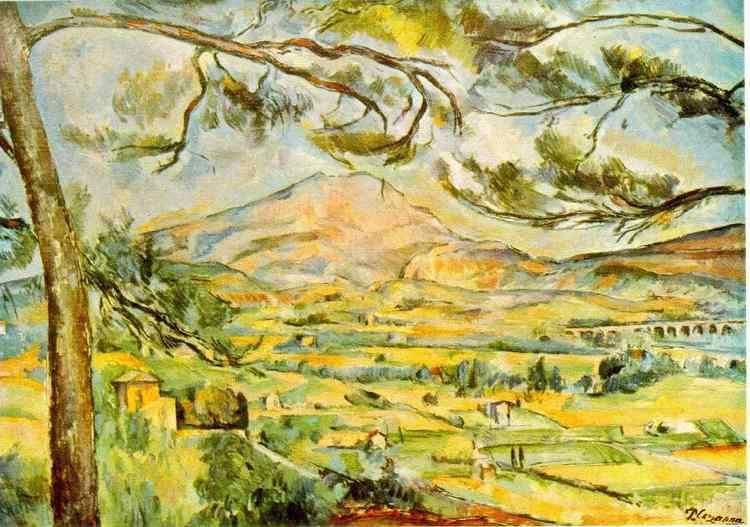 Mont Sainte-Victoire (Cézanne) WebMuseum Czanne Paul Mont SainteVictoire