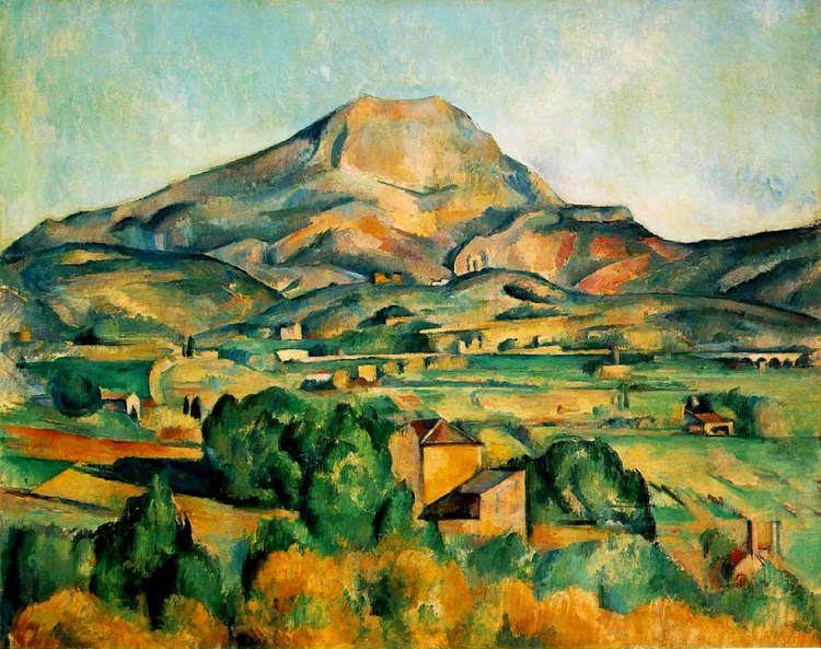 Mont Sainte-Victoire (Cézanne) Mont SainteVictoire c1895 Paul Cezanne WikiArtorg