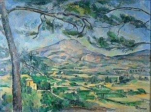 Mont Sainte-Victoire (Cézanne) httpsuploadwikimediaorgwikipediacommonsthu