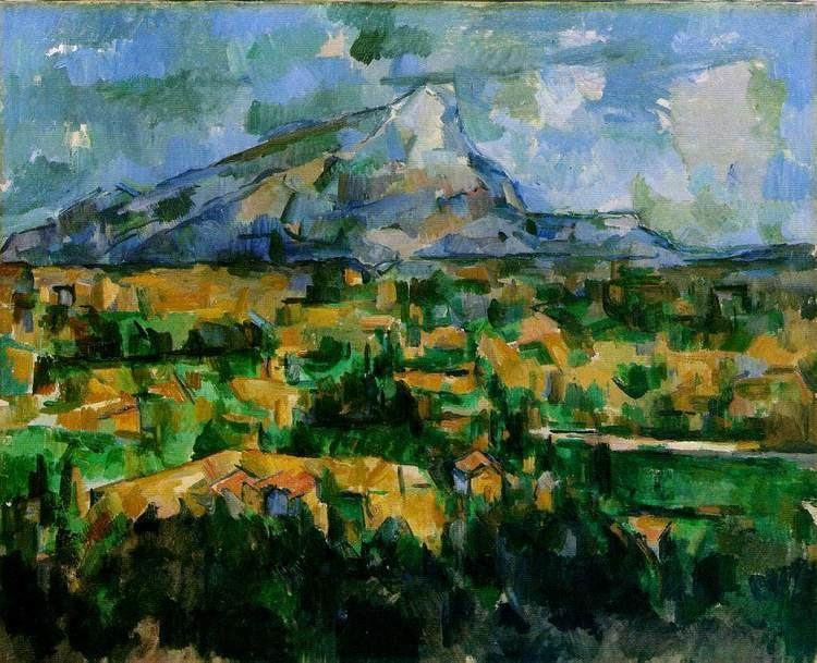Mont Sainte-Victoire (Cézanne) WebMuseum Czanne Paul Le Mont SainteVictoire