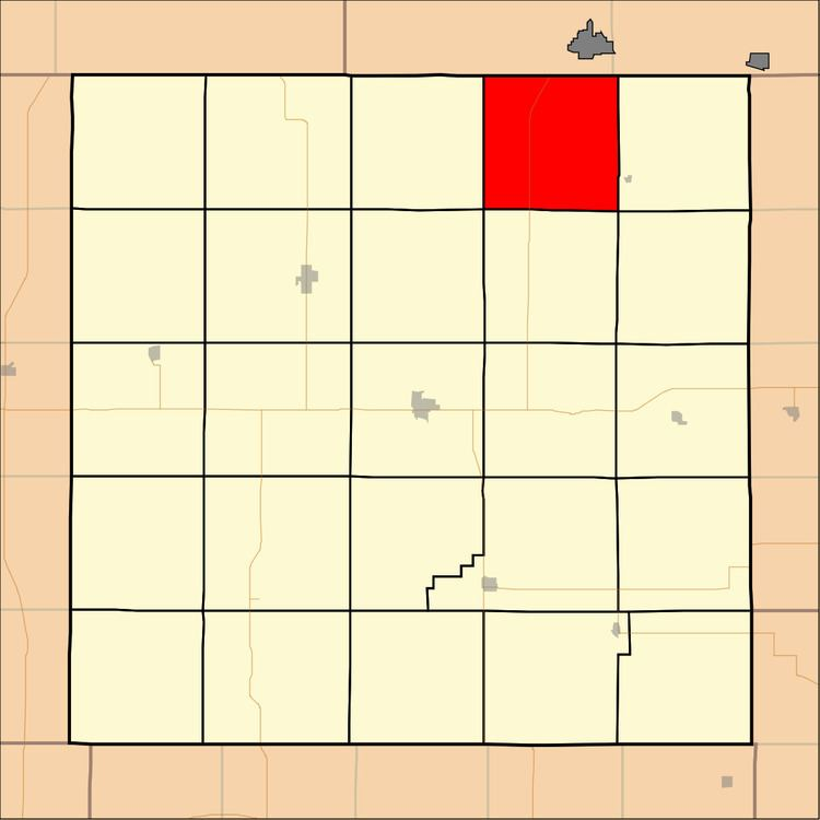 Montana Township, Jewell County, Kansas