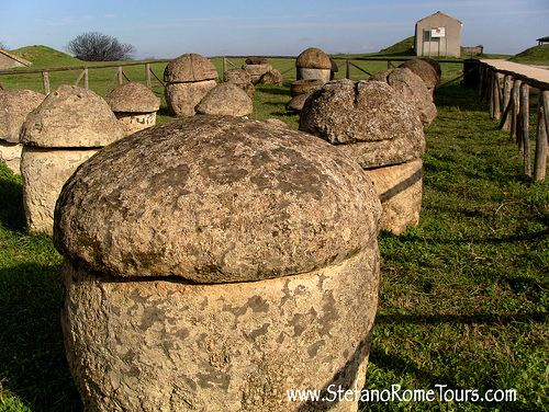 Monterozzi necropolis Visit Monterozzi Necropolis Tarquinia Tarquinia Italy