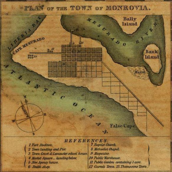 Montserrado County in the past, History of Montserrado County