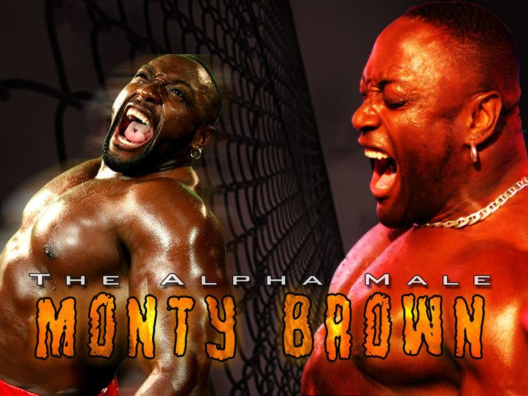 TNA Impact Wrestling Monty Brown The Alpha Male