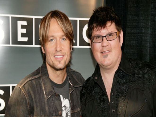 Monty Powell Friends for 16 Years Keith Urban and Monty Powell