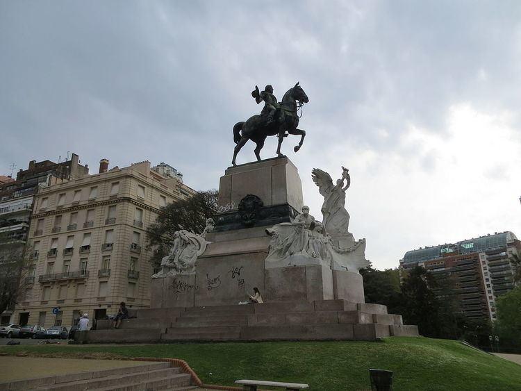 Monument to Bartolomé Mitre