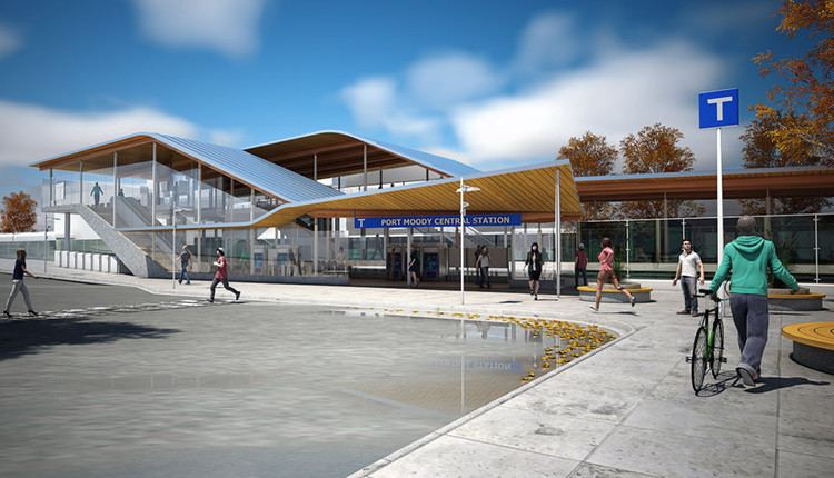 Moody Centre station Evergreen Line station opens today for commuter rail passengers
