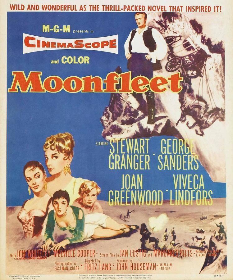 Moonfleet (1955 film) Post No Bills Fritz Lang Nitehawk Cinema Williamsburg