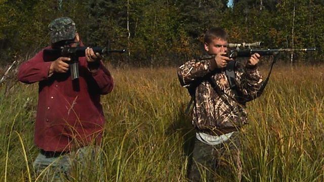 Moose Hunters movie scenes