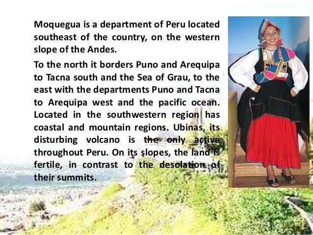 Moquegua Tourist places in Moquegua