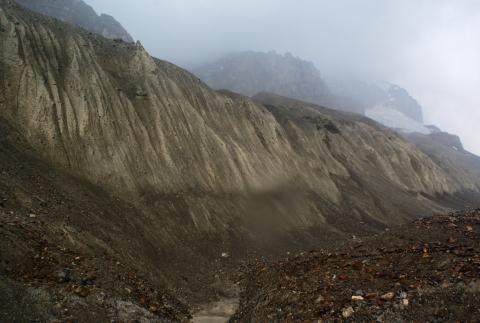 Moraine Glacier Landforms Moraines National Snow and Ice Data Center