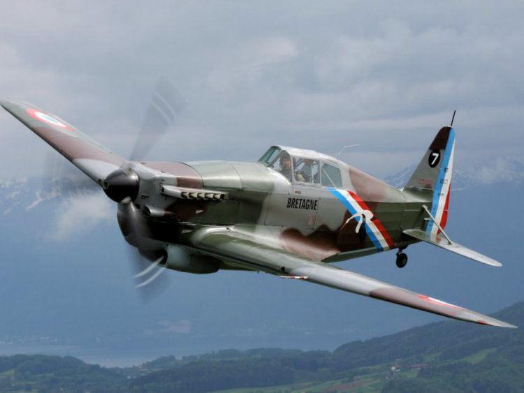 Morane-Saulnier M.S.406 Morane Saulnier MS406 wallpapers Morane Saulnier MS406 stock photos