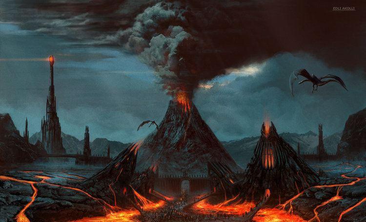 Mordor Visions of Mordor Mordor The Land of Shadow