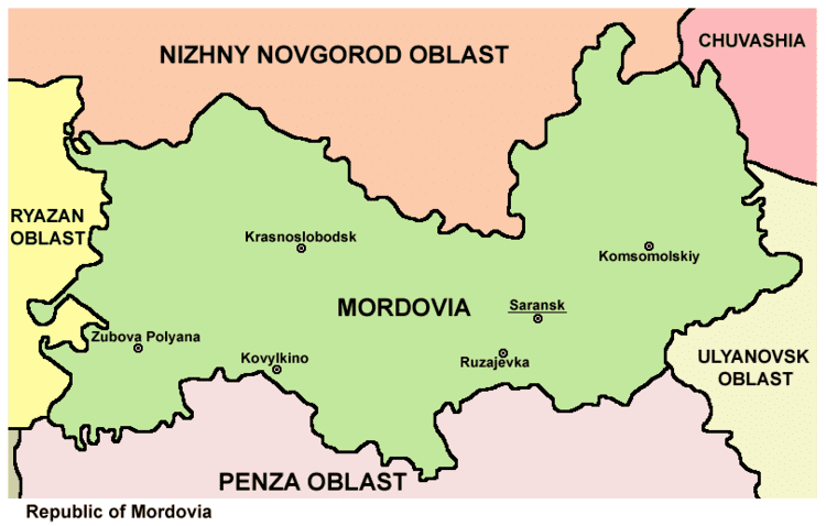 Mordovia in the past, History of Mordovia