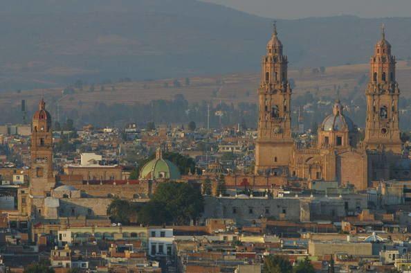 Morelia in the past, History of Morelia