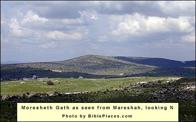 Moresheth-Gath Maresha Beit Guvrin NET