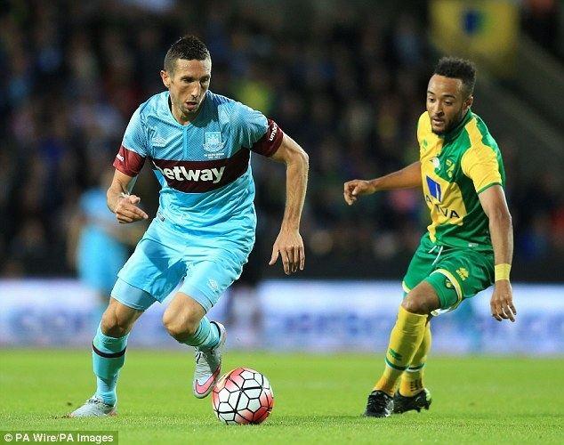 Morgan Amalfitano Morgan Amalfitano BOMBED OUT by West Ham as Slaven Bilic bans star