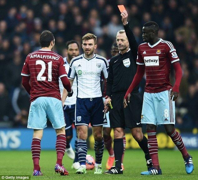 Morgan Amalfitano West Ham will discipline Morgan Amalfitano after unprofessional