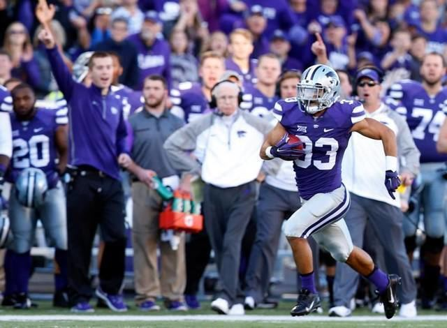 Morgan Burns Former Kansas State kick returner Morgan Burns retires from football