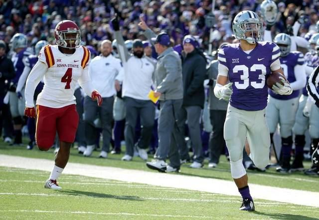 Morgan Burns KState kickoff returner Morgan Burns confident he can maintain hot
