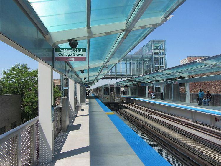 Morgan (CTA station)