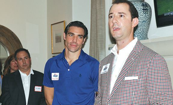 Morgan Meyer Meyer Hosts Party to Kick Off His Campaign For District 108 Park