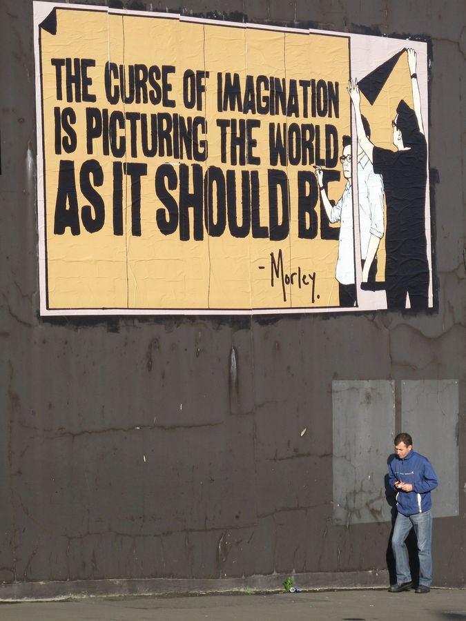 Morley (artist) Street art Art by Morley streetart pictures Live by