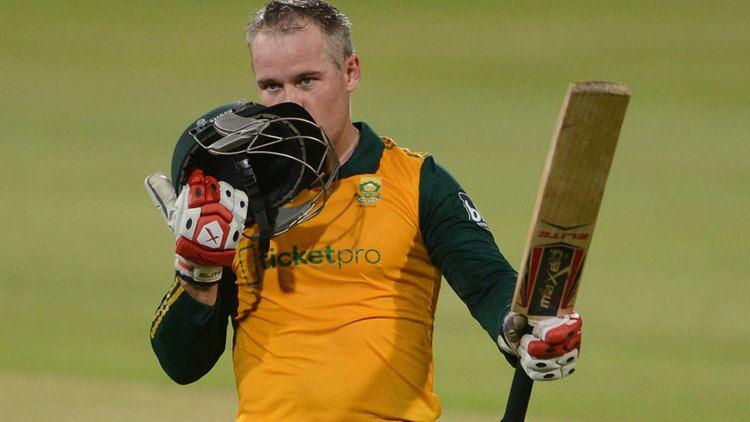 Morné van Wyk Morne van Wyk century leads SA to consolation win Cricket ESPN