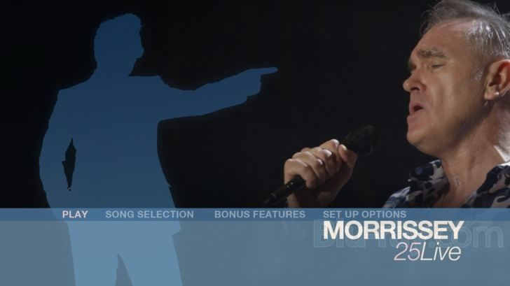 Morrissey: 25 Live Morrissey 25 Live Bluray