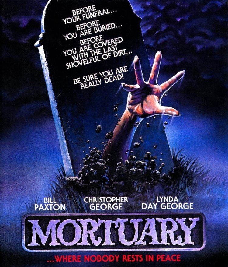 Mortuary (1983 American film) DVD Exotica Mortuary Scorpions Limited Edition Blu