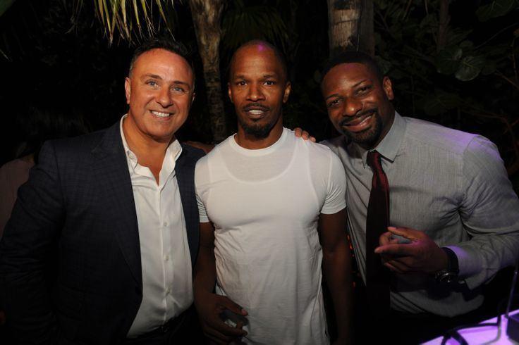 Moses Bensusan Moses Bensusan Jamie Foxx amp DJ Irie Hollywood Meets