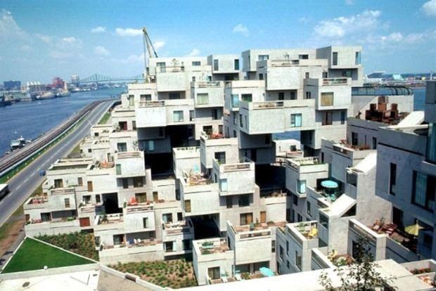 Moshe Safdie Habitat 67 by Moshe Safdie Architects
