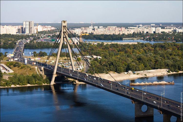 Moskovskyi Bridge duplojovancomuai2010kyivmoskovskyymistkyi