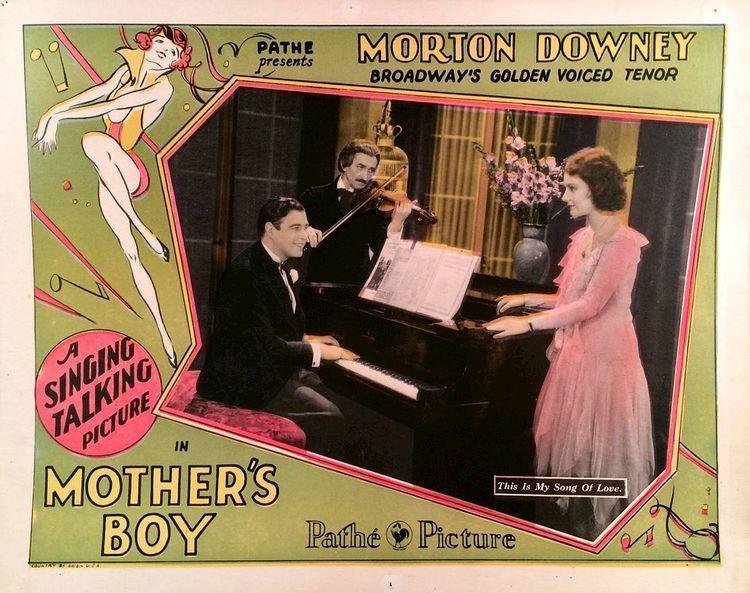 Mother's Boy (1913 film) Mothers Boy 1929 film Wikipedia