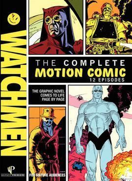 Motion comic Watchmen Motion Comic Wikipedia