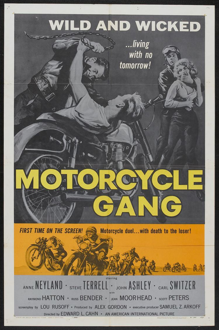 Motorcycle Gang (film) Motorcycle DuelWith Death To The Loser Cine Meccanica